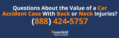 Car Accident Back Neck Injury Law Firm
