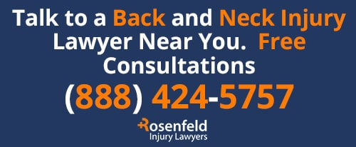 Chicago Back Neck Injury Law Firm