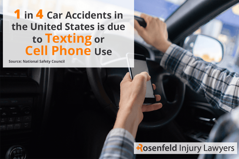 Chicago distracted driving accident attorney