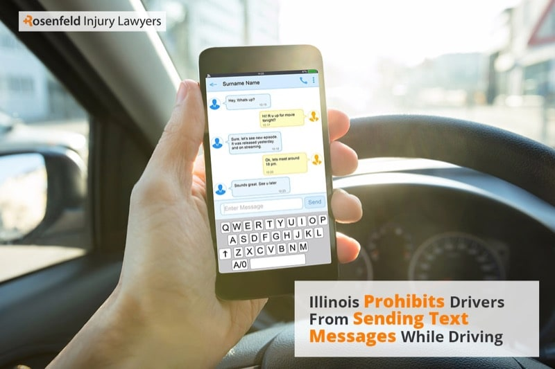 Chicago Distracted Driving Car Accident Lawyer