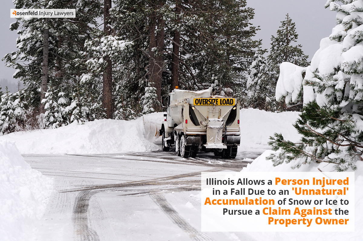 Chicago Snow Ice Slip Fall Lawyer