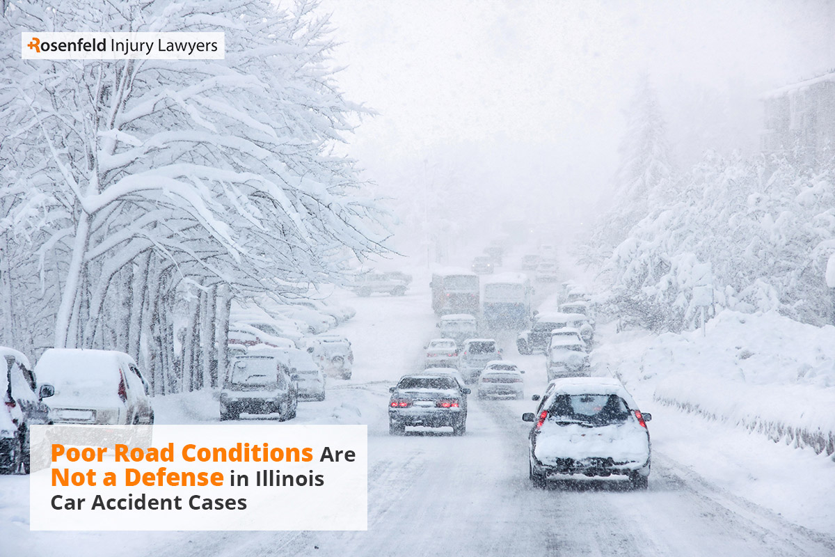 Chicago Winter Weather Car Accident Law Firm