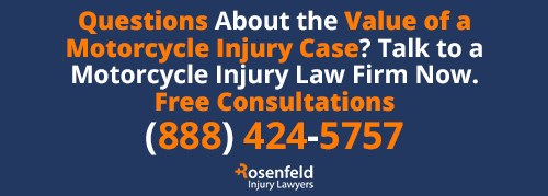 Motorcycle Accident Case Values