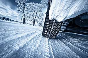 Wintry Road Conditions No Excuse for Accidents