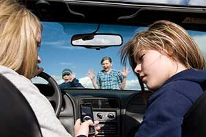 Motor Vehicle Crashes Involving Drivers On Cell Phones