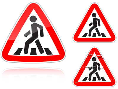 Pedestrian Accidents When Entering the Crosswalk