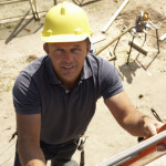 Falls from a Ladder are Common Injuries at Construction Sites