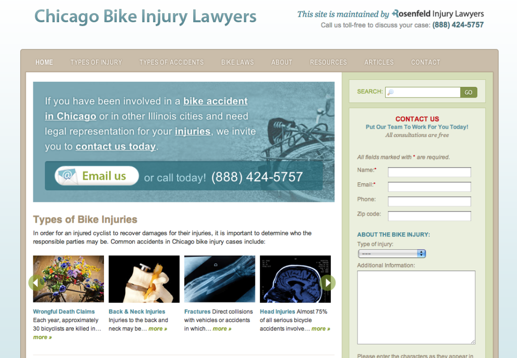 Chicago Bike Injury Lawyers