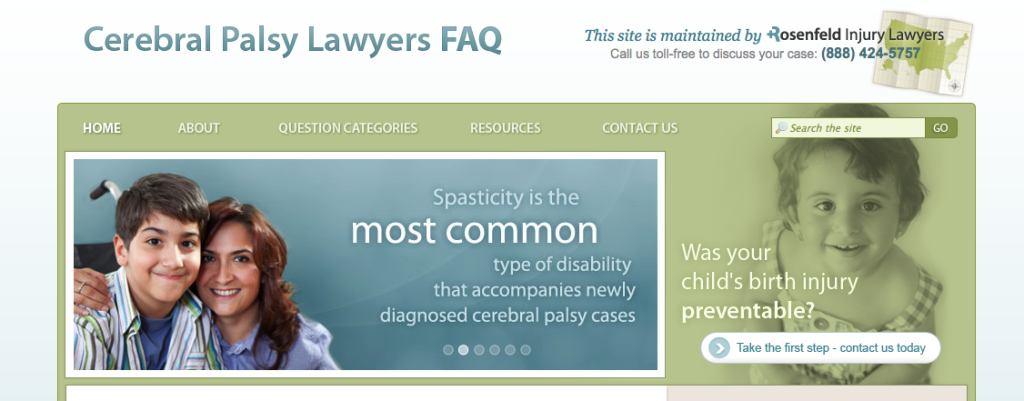 cerebral palsy lawyers faq