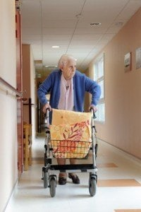 Resident in Illinois Assisted Living Facility