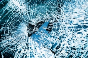 Injuries from Broken Glass in Car Accidents