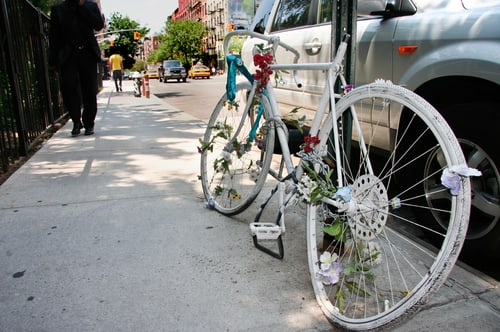 chicago ghost bicycle