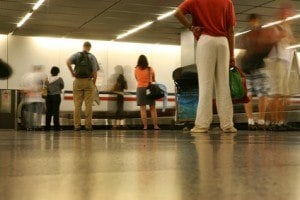 Slip and fall in airports