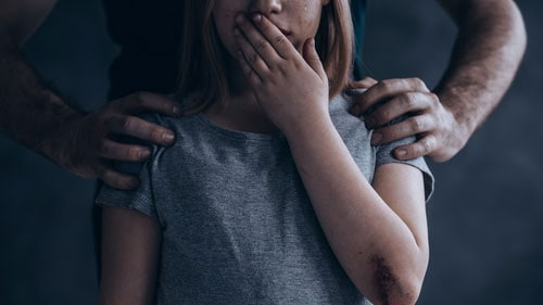 Adult Silencing Child Fear
