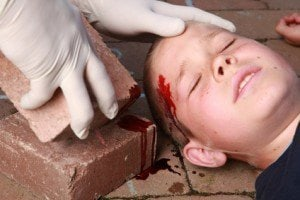Property Injuries with Children