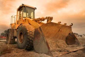 Accidents with construction machinery