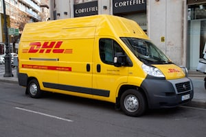 DHL Express Truck Accident