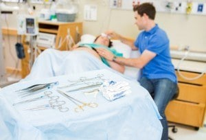 Birth Using Forceps