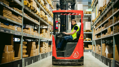 Operator Training Forklift Safety