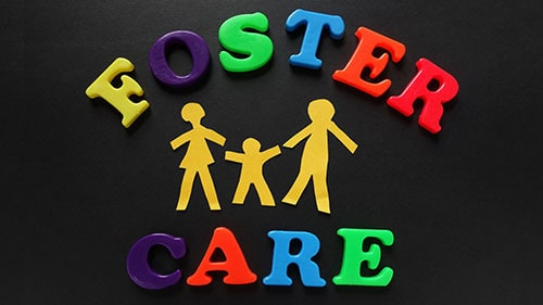 Foster Care Spelled Magnets