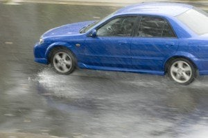 When Vehicles Hydroplace