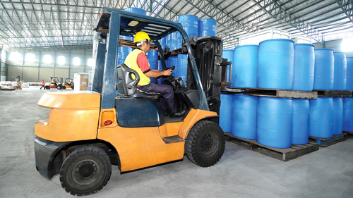 Operators Forklift Workers
