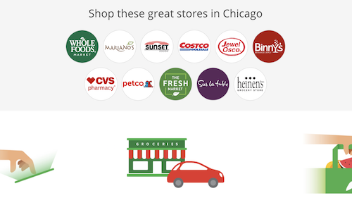 Instacart Grocery Stores Chicago