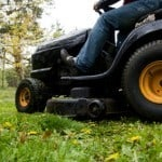 Lawnmower injury accident