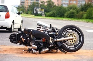 Turns can be dangerous on motorcycles