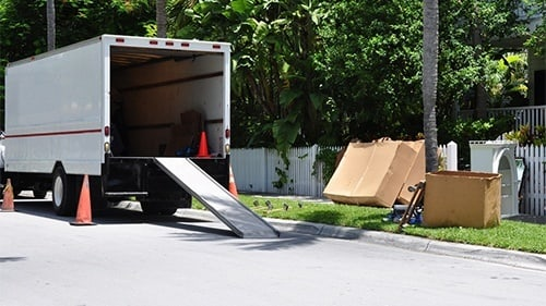 Moving Van Accident