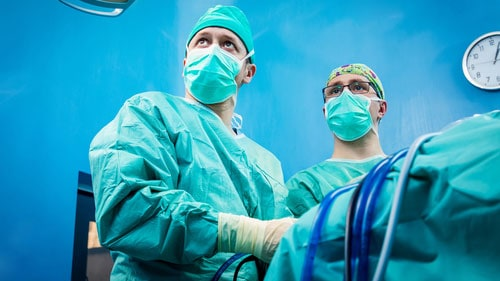 Surgeons Performing Orthopedic Surgery
