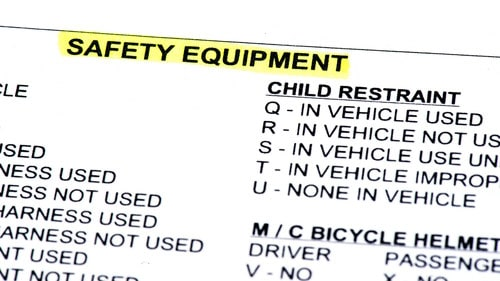 Rockford Police Report Safety Equipment