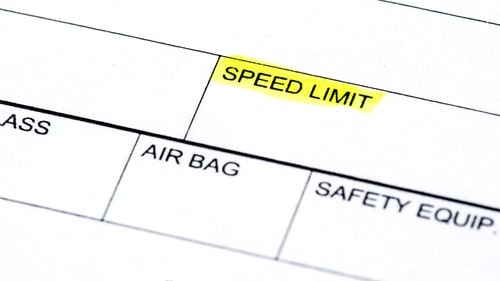 Springfield Police Report Speed Limit Auto Accident