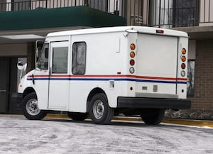 Post Office Vehicle Accident