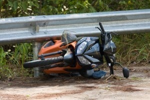 Motorcycle Accidents involving one Motorcycle
