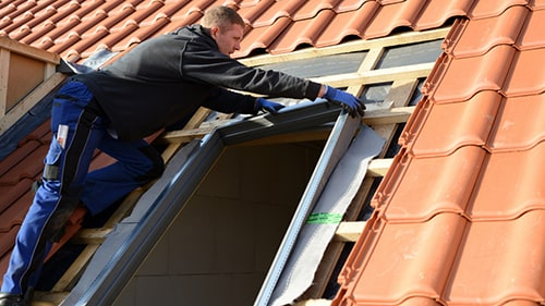 Workers Installing Skylight Roof From Fall Accident Attorney