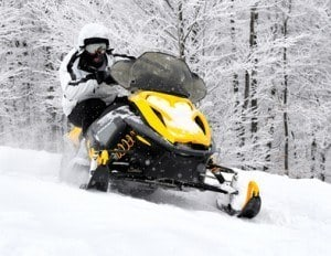 Accidents on snowmobiles