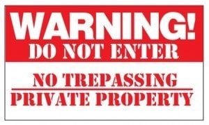 People who Trespass