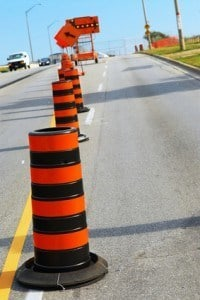 truck crashes in road construction zones lawyers