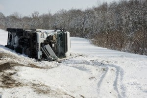Poor Weather Trucking Accidents
